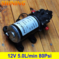 Wholesale DC V Psi L min High Pressure Diaphragm Water Pump For Sprayer Pumps Sprayer Fixtures Water Purification Pump Car Washing Pump