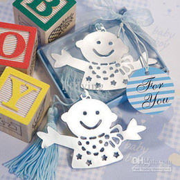 Wholesale new blue Baby Shower Bookmark