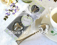 Wholesale new TeaTime Heart Tea Infuser Favor in Teatime Gift Box