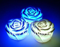 Wholesale Rose LED light changing color LED candle top deal for christmas day Christmas decoration