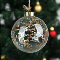 willow tree - Handmade Christmas Tree Glass ball Pendant Christmas Trees Willow twigs Ornament Holiday party Decoration