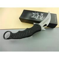 Cheap OEM Fox Claw Karambit G10 Self Defence Pocket Knives Outdoor Hunting Survival Knife Folding Small Gadget Knives