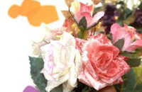 Wholesale Artificial Decorative Flowers Big Rose High Quality New Arrival B8