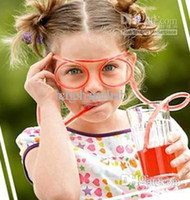 Wholesale PVC Drinking Straw Glassess Glasses Straw Low Price Mix Color Summer New Arrival G1