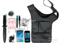Wholesale Outdoor Bag Hiding Pouch Backpack Style FBI Use Black Camouflage