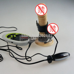 Wholesale Shock Therapy Electro Massager Kit with Anal plug and ball ring Electro Sex Kit E Stimulation Sex Toys