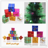 Wholesale Fashion Christmas Party Drops Decorations Christmas Tree Pendants Gift Bags Festival Party Supplies Christmas Decorations Oranment PS03A