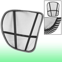 Nylon mesh chair office chair - Office Chair Car Seat Cool Vent Mesh Back Rest Support Black