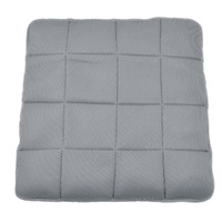 Wholesale Gray Bamboo Charcoal Fiber Grid Printed Meshy Seat Cushion for Auto Car