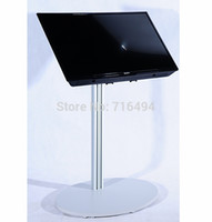 Wholesale LED tv stand exibition product trade show quot to plasma or LCD television stand Single short column Incline