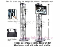 advertising trades - Hot sales Portable TV Stand folding high truss for trade show Pop up advertising