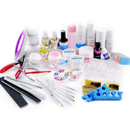 Wholesale in Acrylic Nail Art Manicure UV Gel Kits Tool HN1091 DIY Brush Cleaner Acrylic Cleaner Nail Polish Remover