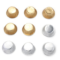 Wholesale 100 Foil Cupcake Liners Baking Cups Cake Candy Cookie Decoration