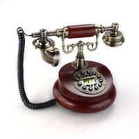 antique style telephone - Retro Vintage Antique Style Bronze Home Decor Desk Telephone Phone
