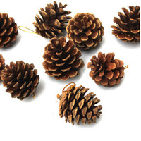 pine cones - 9 Pine Cone Christmas Tree Decoration Festival Party Christmas New Year Decoration New Arrival Hot Sale Promotion Special Offer
