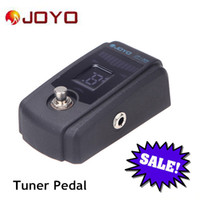 Wholesale 4 Display Modes Guitar Tuner Pedal True Bypass Design Joyo Tuner Pedal with Scientific and Rigorous Tuning Program I412