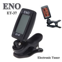 ukulele - ENO ET LCD Mini Clip on Electronic Guitar Chromatic Bass Violin Ukulel Tuner Wind Instrument Universal I263