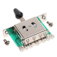 Wholesale Small and Exquisite Appearance Way Selector Electric Guitar Pickup Switches with Mounting Screws I65