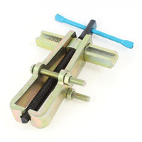 bearing pullers - 4 Inch Brass Tone Pump Pulley Remover Straight Type Two Claws Bearing Pullers