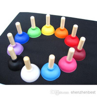 Wholesale Cheapest Colorful New design Mini rubber plunger suction Cup Sucker holder Plunger Rubber Sucker Stand Case For Cell Phone MP3 Player