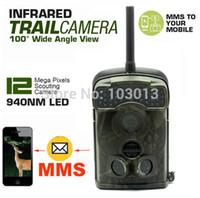 Wholesale Little Acorn Mms Camera - Free Shipping!Ltl Acorn 940nm Ltl-5310WMG 44 IR LED Trail SMS MMS GPRS hunting camera scouting camera cam 100 Degree Wide Angle