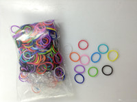 Cheap Wholesale - Rainbow Loom glow in the dark glitter metal camouflage charms bands Silicone Rubber Bands in stock 100bags lot