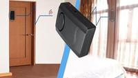 Wholesale Black Wireless Remote Control Vibration Triggered Door Window Security Alarm Detector Burglar Newest
