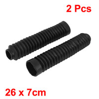 Wholesale Pair cm Long Front Fork Cover Shock Absorber Dust Rubber Cover Black