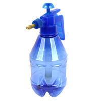 Wholesale Car Watering L Clear Blue Plastic Spray Bottle Water Pressure Sprayer