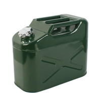 Wholesale 20L Army Green Metal Fuel Jerry Can Petrol Diesel Water Oil Loter Container