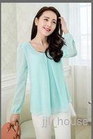 Cheap Hot Sale 2014 New fashion spring & AutumnTop Women Slim Plus size Winter shirt Work Wear Camisas Femininas Dudalina body T- shirt