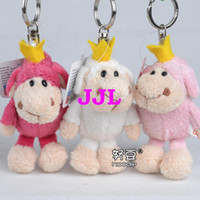 nici - Super cute cm NICI novelty forest animal plush little doll bag keychain pendant stuffed toy children baby gift
