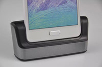 Wholesale For Samsung Note Newest Charger Dock Cradle For Samsung Note Charging Dock Cradle USB Dock Station Holder Portable Charging DockDHL FREE