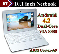 Wholesale 10 inch Netbook VIA8880 Dual Core UMPC Android GHz Wifi Bluetouch M RAM GB notebook laptop SW2