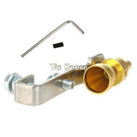 Wholesale Universal Car Turbo Sound Whistle Muffler Exhaust Pipe Blow off Vale BOV Simulator Whistler Size S Dropshipping
