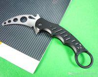 Cheap New Fox Claw Karambit Training Folding blade knife Outdoor gear EDC Pocket Knife hunting knife camping knife knives