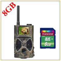 Cheap HC-300M HD12MP 940NM MMS GPRS Scouting Infrared Trail Hunting Camera MMS SMS SunTek f Free Shipping.