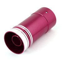 Wholesale Universal Car Exhaust Pipe Round Muffler Silencer Tip Red mm Long