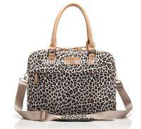 Wholesale Leopard quot quot Handle Bag Canvas Laptop PC Messenger Carry Case Pouch