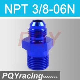Wholesale J2 RACING STORE AN6 NPT3 AN6 to NPT Straight Adapter Flare Fitting auto hose fitting Male