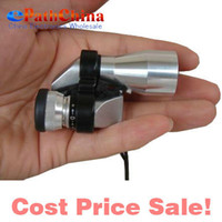 Wholesale Sale Mini Pocket Size X20 Silver Metal Monocular Telescope Eyepiece with Night Vision M M Scope