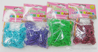 Wholesale Rainbow Loom Refill COMES WITH S CLIPS AND RUBBER BANDS hook DIY BRACELET Christmas gift