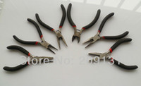 Wholesale 6 Styles DIY Jewelry Pliers Set Packing Jewelry Making tool Pliers Produce equipment Necklace Earring tool DIY Pliers tool set