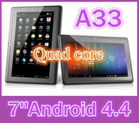 epad tablet pc - DHL quot inch Capacitive Allwinner A33 Quad Core Android dual camera Tablet PC GB MB WiFi EPAD