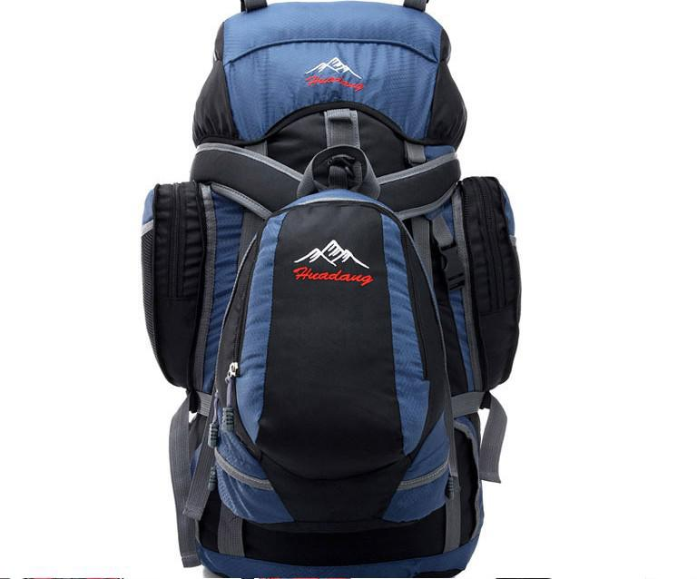 55L Waterproof Men Hiking Bag Camelback Backpack Sport Duffle Bag ...