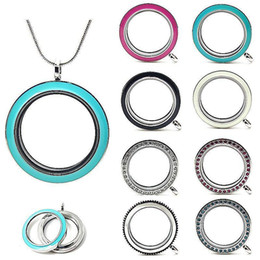 Wholesale 2015 New mm Round twist living locket high quality floating charm locket chains included for free