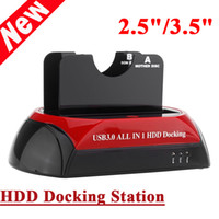 sata docking station - All in HDD Docking Dual Double quot quot IDE SATA USB Dock Station US Plug MB S Cloning Speed LED Indicator C1929