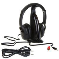 Wholesale Multifunction in HiFi Wireless Headphone Earphone Headset Wireless Monitor FM Radio MP3 PC TV Audio Phones V451