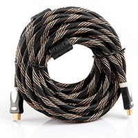 Wholesale 33FT M P D HDMI Cable Male to Male HDMI AV Cable for HDTV XBOX PS3 V407