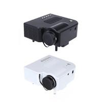 hdmi mini projector - HDMI Portable Mini LED Projector Home Cinema Theater with AV VGA SD Card USB V576